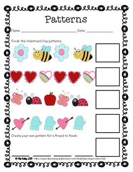 Valentine's Day Packet- First Grade