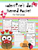 Valentine's Day Packet- First Grade