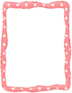 Valentine's Day Papers and Borders Clipart PU and CU OK