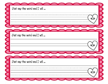 Valentine's Day Parent Coupons