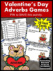 Valentine's Day Activities, Parts of Speech Task Cards BUNDLE Literacy Centers