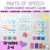 Valentine's Day Parts of Speech Grammar Game