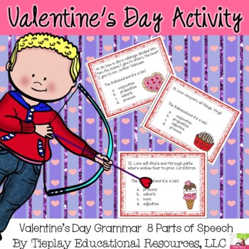 Valentine's Day 8 Parts of Speech and Infamous Quotes