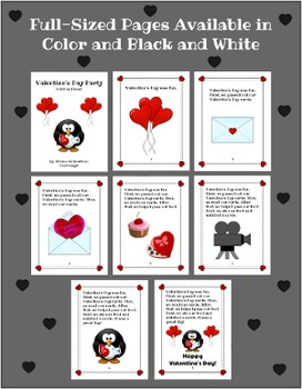 Valentines Day Party Fluency Book
