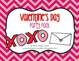 Valentine's Day Party Mega Pack - Student activity pack and templates included!