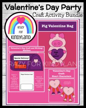 Valentine's Day Party For Families: Poem, Crafts, Writing,