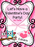 Valentine's Day Party and Card Exchange Letter to Parents *FREE*