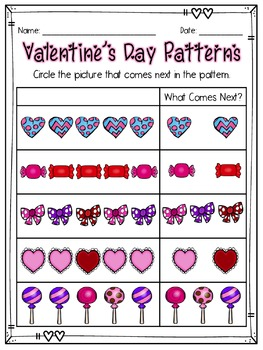 Valentine's Day Patterns- Freebie!