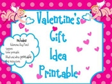 Valentine's Day Pencil Topper printable