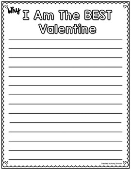 Valentine's Day Persuasive Writing Unit