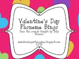 Valentine's Day Phoneme Bingo