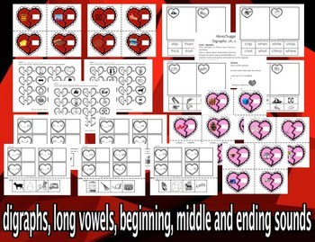 Valentine's Day - Phonics & Phonemic Awareness. CCS Aligned