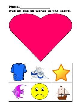 Valentine's Day Phonics Unit