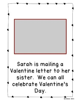 Valentine's Day Photographic Adapted Books for Language (Autism; Special Ed)
