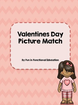 Valentines Day Picture Match File Folder