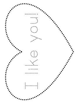 Valentine's Day Pin Poke Art:  Day 6 of 14 Days of Love