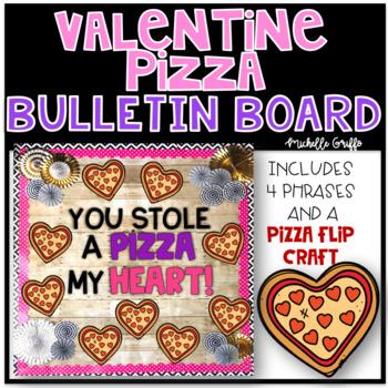Valentine's Day Pizza Bulletin Board