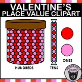Valentines Day Place Value Clipart Hundreds Tens Ones