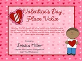 Valentines Day Place Value