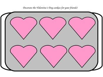 Valentine's Day Play Dough/Play-Doh/Playdough Mats