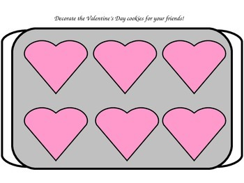 Valentine's Day Play Dough/Play-Doh/Playdough Mats