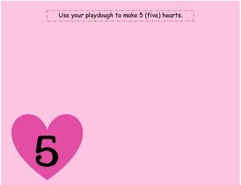Valentine's Day Playdough Mats