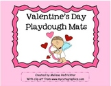 Valentine's Day Playdough Mats
