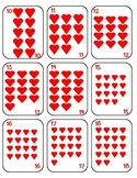 Valentine's Day Playing Cards