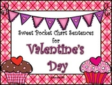 Valentine's Day Pocket Chart Sentence Builders