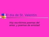 Valentine's Day Poem Activity, Spanish 2 - 4