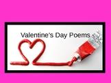 Valentine's Day Poem Collection/Activity
