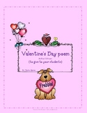 Valentine's Day Poem (for your students) - FREEBIE