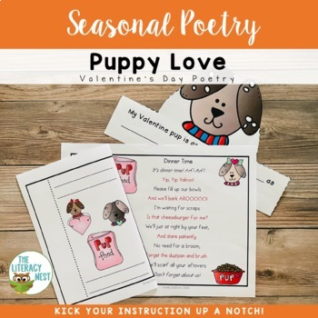 Poetry for February Fluency Practice ~Valentine's Day Poetry~
