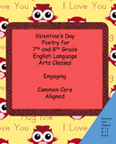 Valentine's Day Poetry 7th and 8th Grade English Language Arts