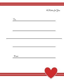 Valentine's Day Poetry - Haiku