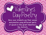Valentine's Day Poetry- Mind Maps and Poems, oh my!