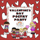 Valentine's Day Poetry Party Unit