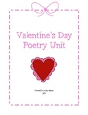Valentine's Day Poetry Unit Packet