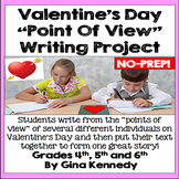 """Valentine's Day """"Point of View"""" Creative Writing Project"""