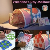 "Valentine's Day Craft - Make Your Own ""Pop Art"" Mailboxes!"