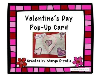 Valentine's Day Pop-Up Card Craft