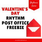 Valentine's Day Post Office Ta and Ti-Ti {Freebie}