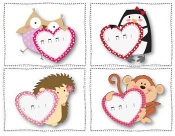Valentine's Day Post Office Ta and Ti-Ti {Freebie}