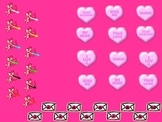"""Valentine's Day Powerpoint Game """"Cupid's Arrows"""""""