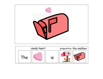 Valentine's Day Preposition Book