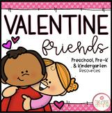 Valentine Day: Preschool, Pre-K and Kindergarten Resources