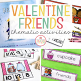VALENTINE'S DAY AND KINDNESS UNIT FOR PRESCHOOL, PRE-K AND KINDERGARTEN