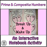 Prime and Composite Numbers {Valentine's Day}