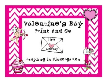 Valentine's Day Print and Go Centers