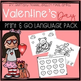 Valentine's Day Print and Go Language Pack
